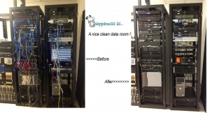 Happiness is a clean data room.......
